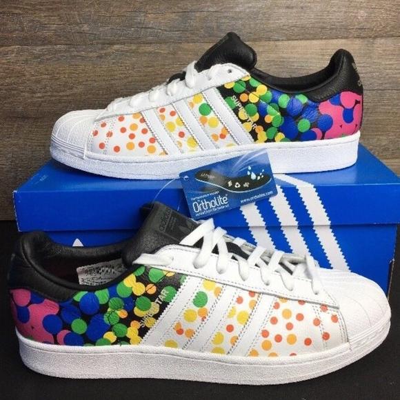 bf725cc74436 Adidas Originals SuperStar Pride Pack Rainbow Shoe